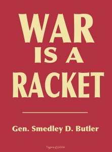 Image result for pictures of war is a racket
